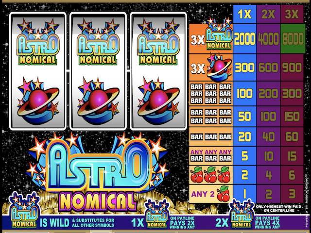 Astronomical Slot Online Game