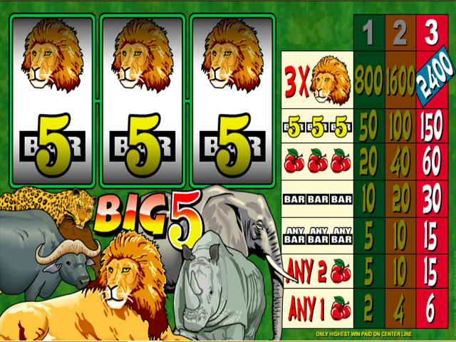 Big 5 Slot Online Game