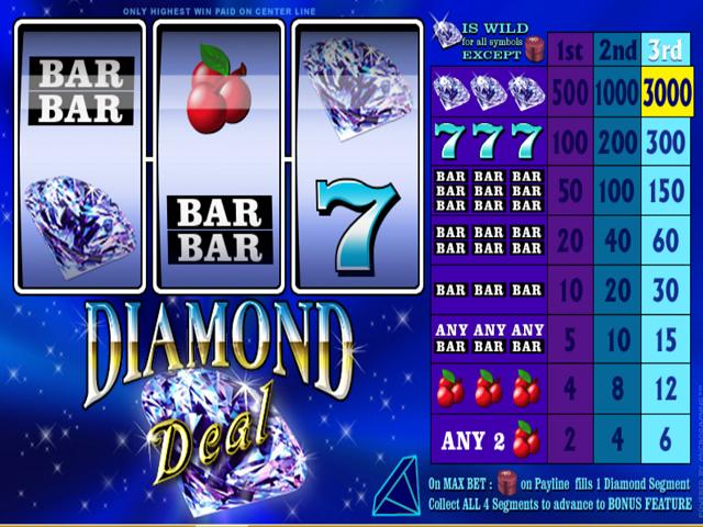 Diamond Deal Slot Online Game