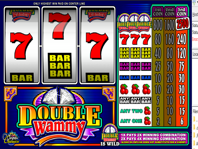Double Wammy Slot Online Game