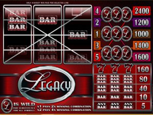 Legacy - Slot Online Game