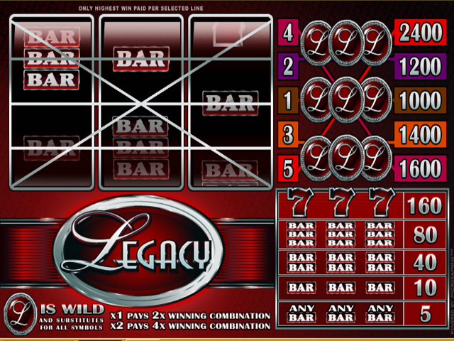 Legacy Slot Online Game