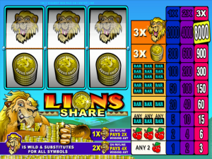 Lions Share - Slot Online Game