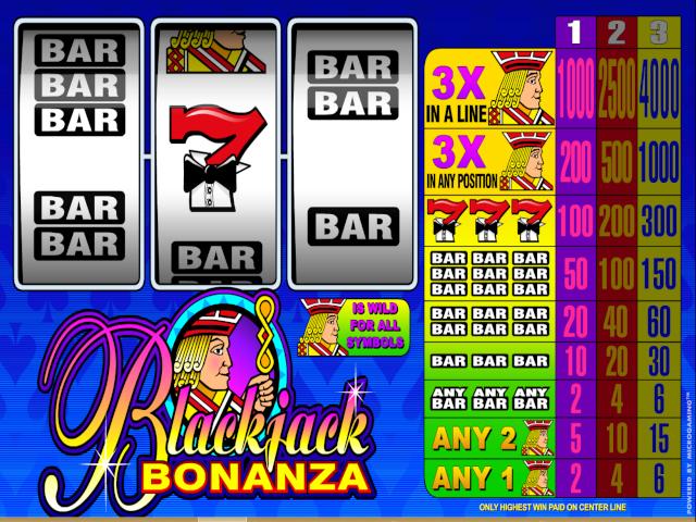 Blackjack Bonanza Slot Online Game