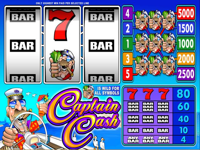 Captain Cash Slot Online Game