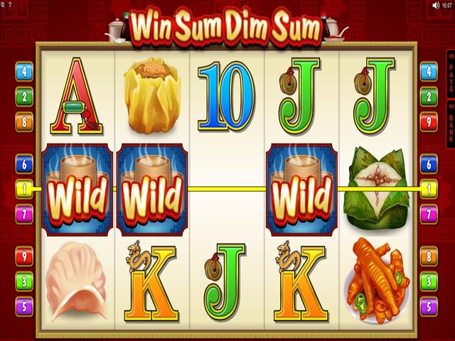 Win Sum Dim Sum Slot Online Game