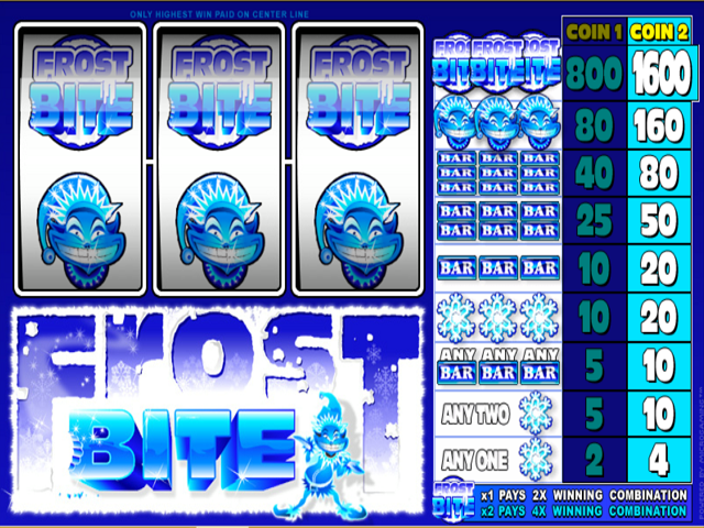 Frost Bite Slot Online Game