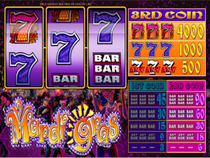 Mardi Gras - Slot Online Game