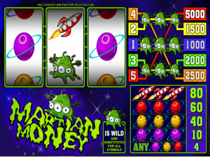 Martian Money - Slot Online Game