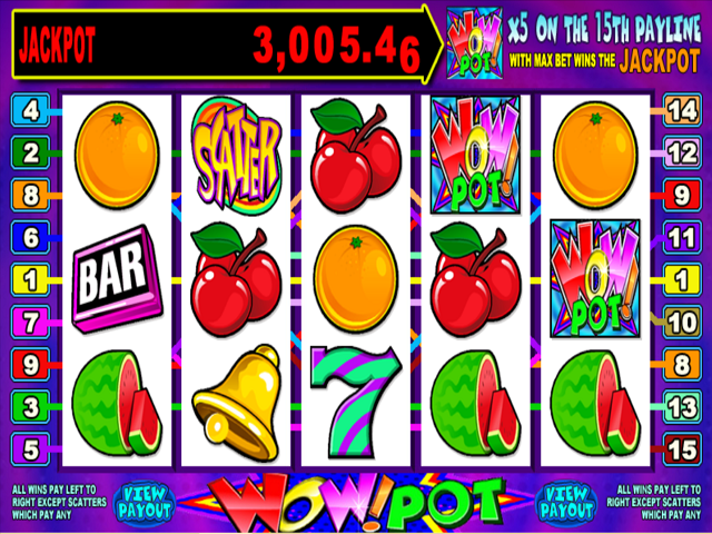 Wow 5-Reel Slot Online Game