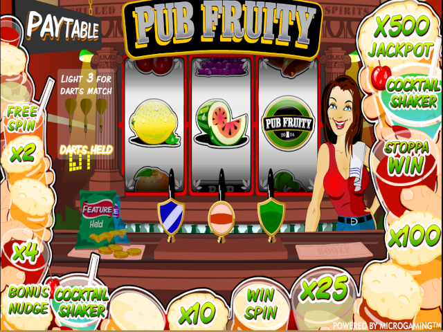 Pub Fruity Slot Online Game