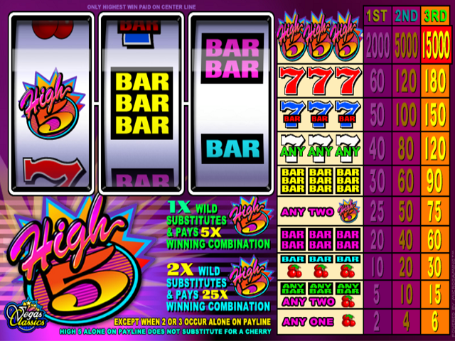 High 5 Slot Online Game