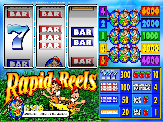 Rapid Reels Slot Online Game