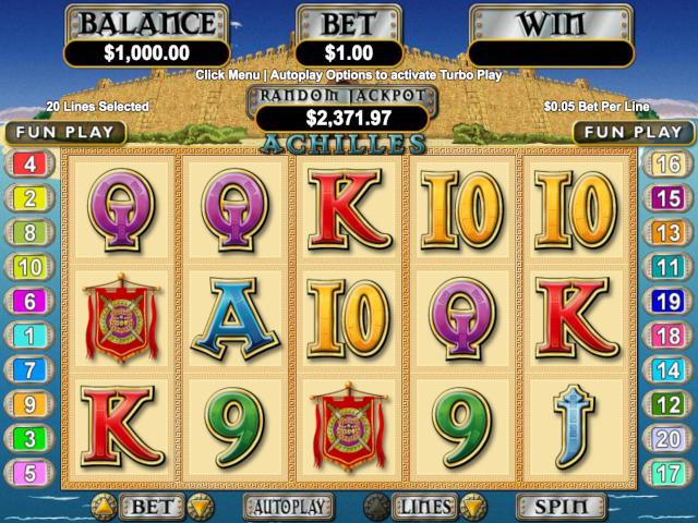 Achilles Slot Online Game