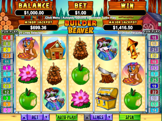 Builder Beaver Slot Online Game