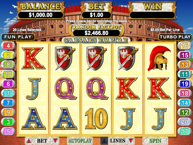 Caesar's Empire Slot Online Game