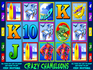 Crazy Chameleons - Slot Online Game