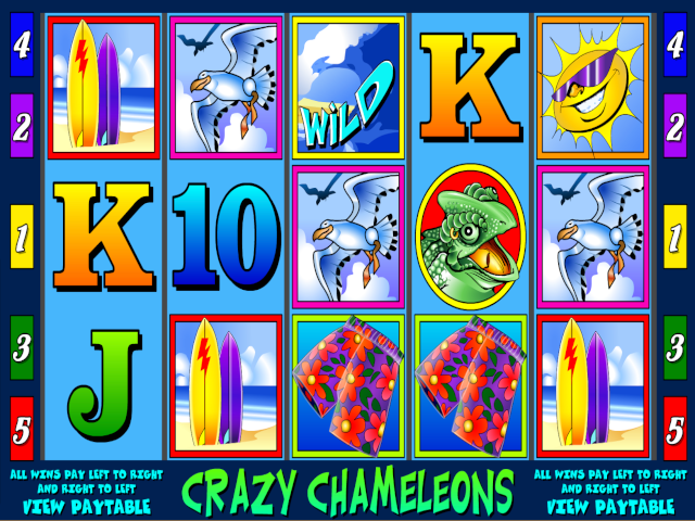 Crazy Chameleons Slot Online Game