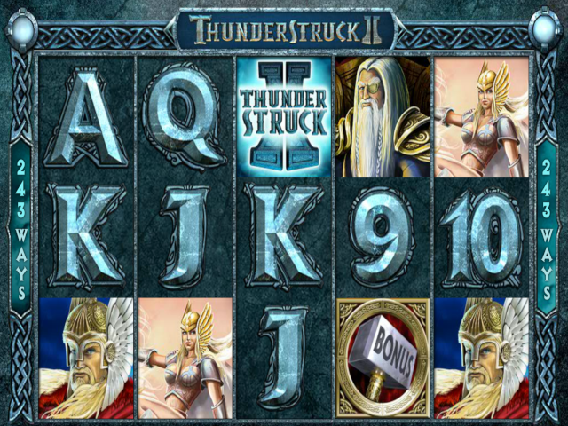 Thunderstruck II Slot Online Game