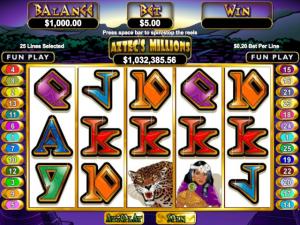 Aztec's Millions - Slot Online Game