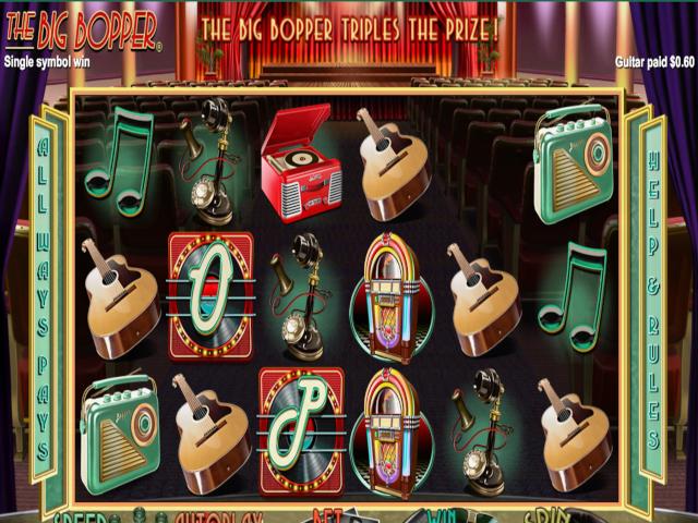 The Big Bopper Slot Online Game