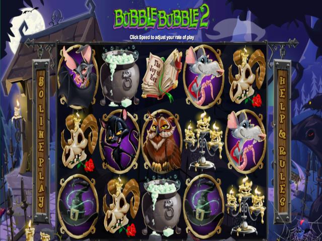 Bubble Bubble 2 Slot Online Game