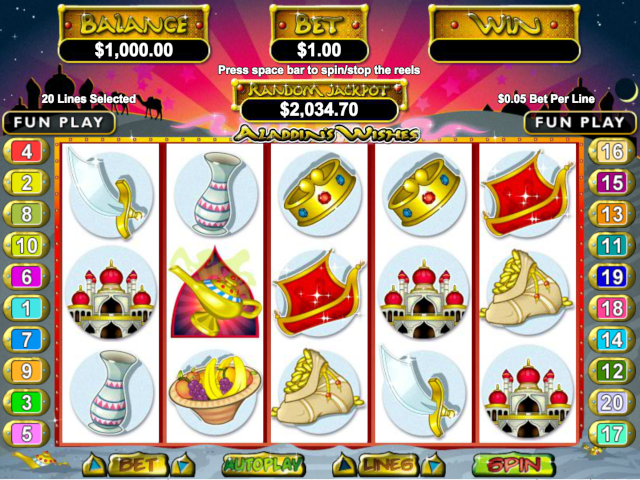 Aladdin's Wishes Slot Online Game