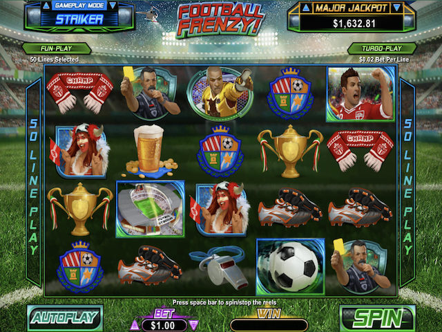 Football Frenzy Slot Online Game