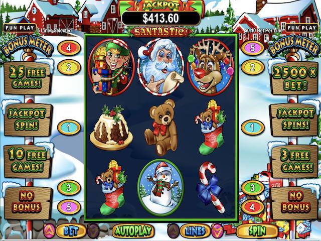 Santastic Slot Online Game