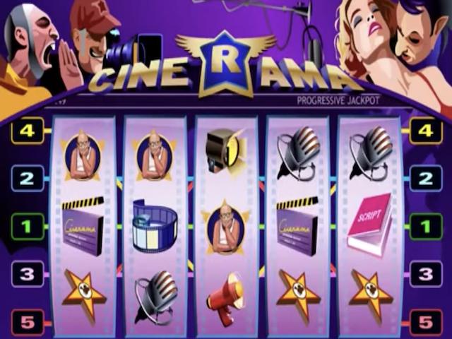 Cinerama Slot Online Game