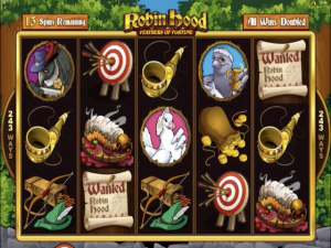 Robin Hood: Feathers of Fortune - Slot Online Game