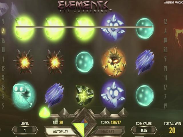 Elements – The Awakening Slot Online Game