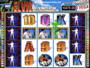 Elvis – A Little More Action - Slot Online Game
