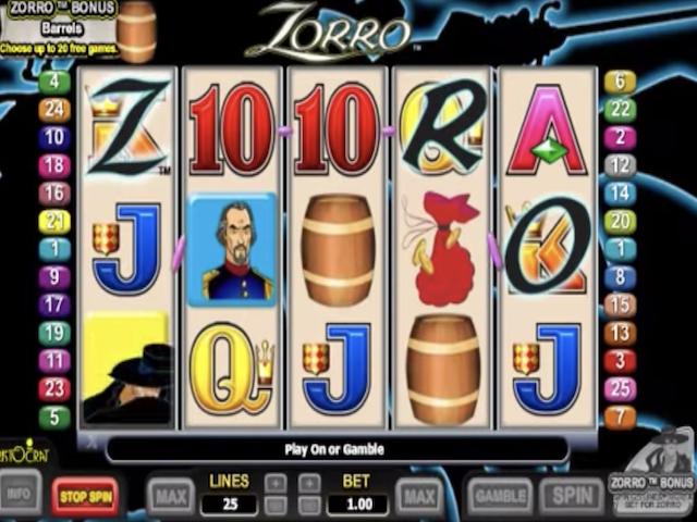 Zorro Slot Online Game