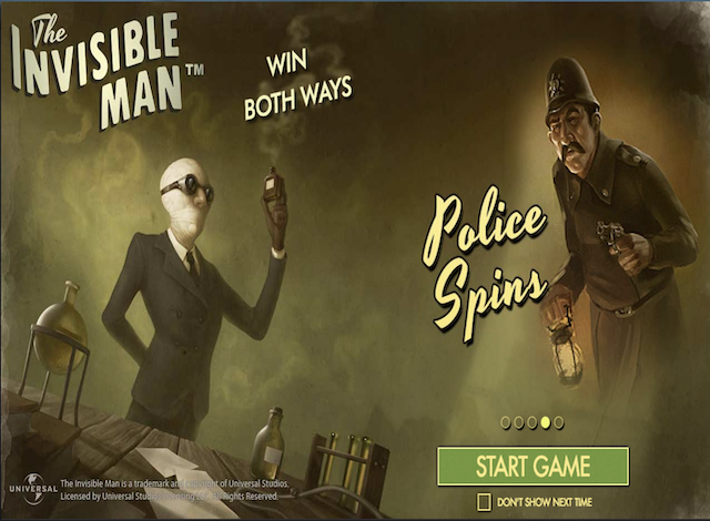 Invisible Man Slot Online Game