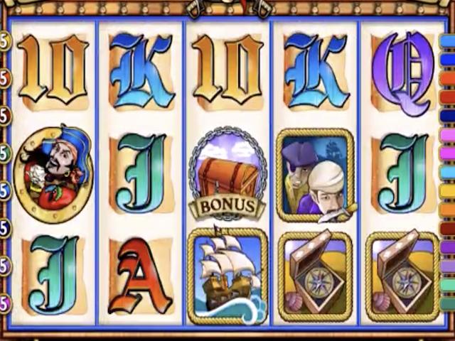 Captain Quid's Treasure Quest Slot Online Game